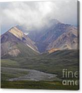 Moods Of Denali Canvas Print