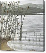 Moods Of The Lake Canvas Print