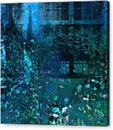 Moonlight In The Garden Canvas Print