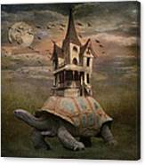Moonlight Traveler Canvas Print