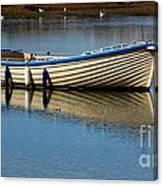 Moored And Ready Canvas Print