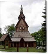 Moorhead Stave Church 1 Canvas Print