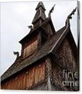 Moorhead Stave Church 11 Canvas Print