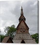 Moorhead Stave Church 2 Canvas Print
