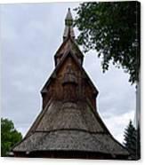 Moorhead Stave Church 7 Canvas Print