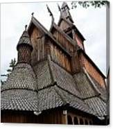 Moorhead Stave Church 8 Canvas Print