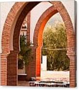 Moorish Arches Canvas Print