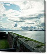 Moray Firth From Fort George Canvas Print