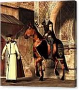 Mordechai And Haman Canvas Print