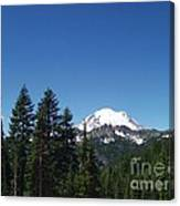 More Mt Rainier Canvas Print