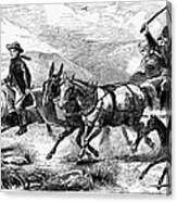 Mormon Family, 1874 Canvas Print