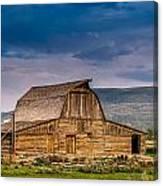 Mormon Row Barn 2 Canvas Print