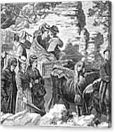 Mormon Wives, 1875 Canvas Print