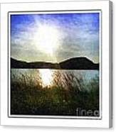 Morning At The Lake Canvas Print