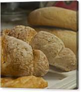 Morning Bread Canvas Print
