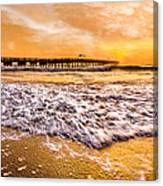 Morning Gold Rush Canvas Print