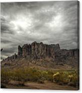 Morning In The Supes  Canvas Print