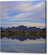 Morning Light On The River Canvas Print