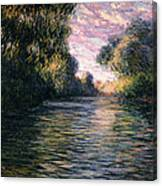 Morning On The Seine Canvas Print