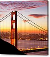 Morning Over San Francisco Canvas Print