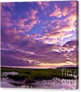 Morning Over The Marsh Canvas Print