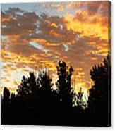 Morning Sky Canvas Print