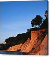Morning View Of The White Cliffs Canvas Print