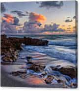 Mornings Reflections Canvas Print