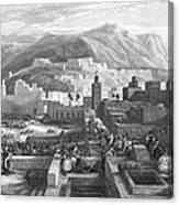 Morocco: Tetouan Canvas Print