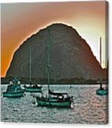Morro Bay Rock Canvas Print