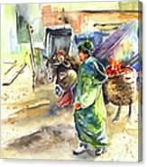 Morrocan Market 04 Canvas Print