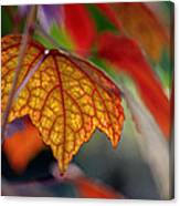 Mosaic Autumn Canvas Print