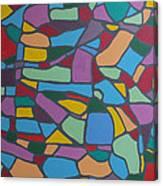 Mosaic Journey Canvas Print