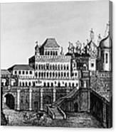 Moscow: Terem Palace Canvas Print