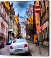 Moscow's Streets Canvas Print
