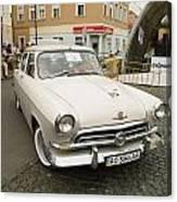 Moscvich Car Canvas Print