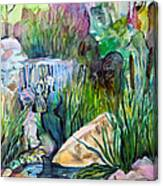 Moses In The Bull Rushes Canvas Print