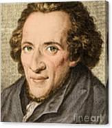Moses Mendelssohn, German Philosopher Canvas Print