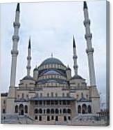 Mosque Ankara Canvas Print