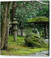 Moss Covered Garden Canvas Print