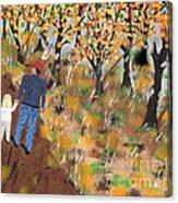 Mosscreek Trail Canvas Print