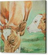 Mother And Baby Canvas Print