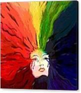 Mother Color Canvas Print
