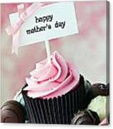 Mother's Day Cupcake Canvas Print
