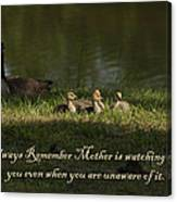Mother's Watchful Eye Canvas Print