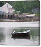 Motor Boat Kennebunkport Maine Canvas Print