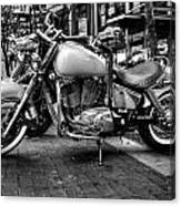Motor Cycle Canvas Print