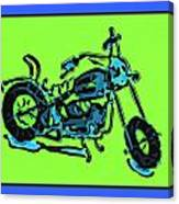 Motorbike 1c Canvas Print