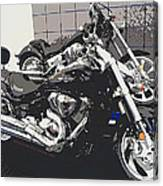 Motorcycle Ride - Five Canvas Print