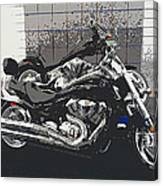 Motorcycle Ride - Two Canvas Print
